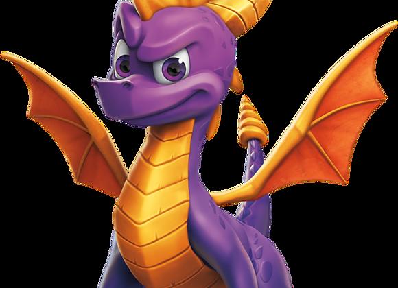 Spyro inspired cosplay horns