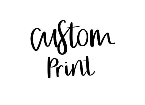 Custom file print