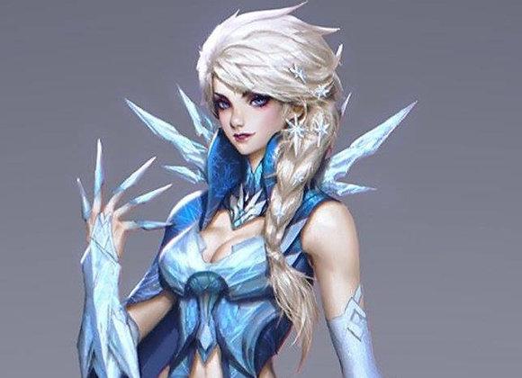 Warrior Elsa hair pins