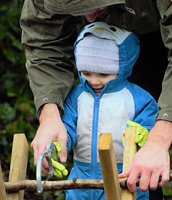 Outdoor learning Forest School Bristol