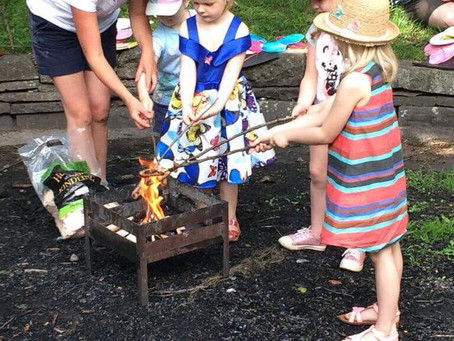 Another Beautiful Woodland Party at Bristol Forest Hideaway!