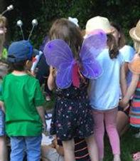 Kid's woodland parties Bristol