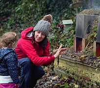 Vicki Patton The Hideaway Forest School Bristol
