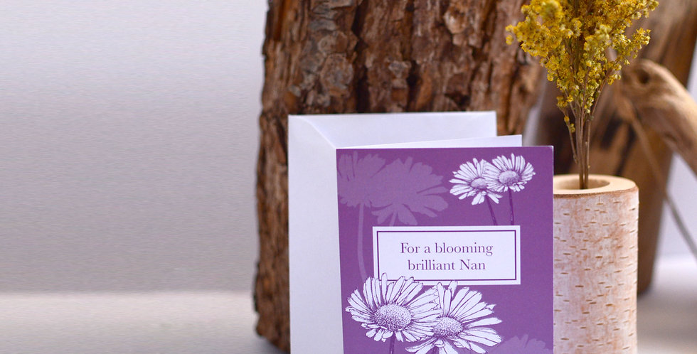 For a blooming great Nan, Mother's Day card