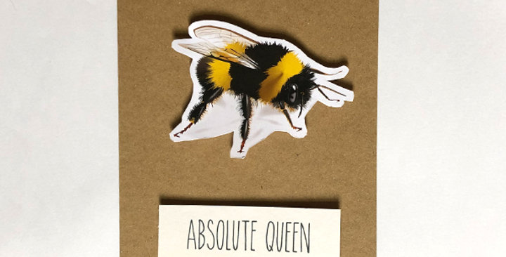 Queen bee - Absolute Queen card