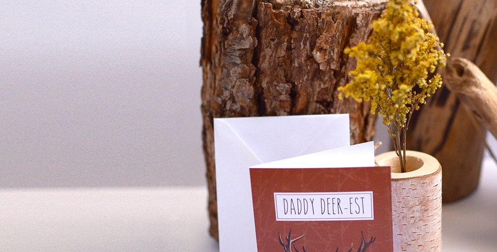 Daddy Deer-est card