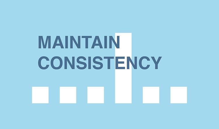 Build trust blog_MAINTAIN CONSISTENCY.jp