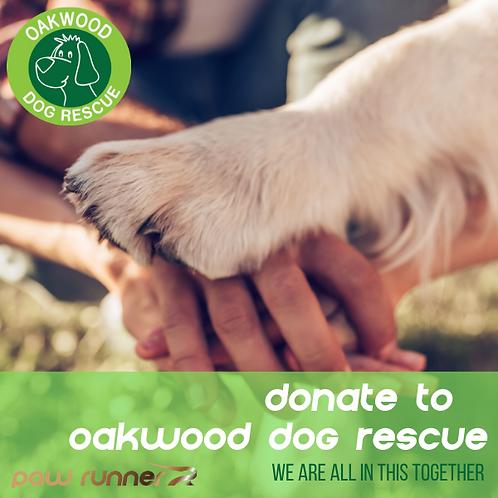 Oakwood Dog Rescue Donation