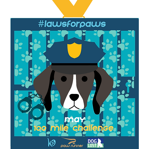 #LAWSFORPAWS May Run - 100 miles