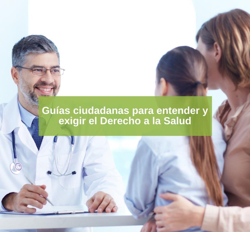 Lanza Central Salud las Guías Ciudadanas de Derecho a la Salud