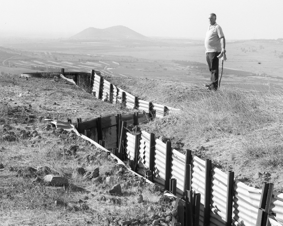 Trench, Golan Heights, 2017