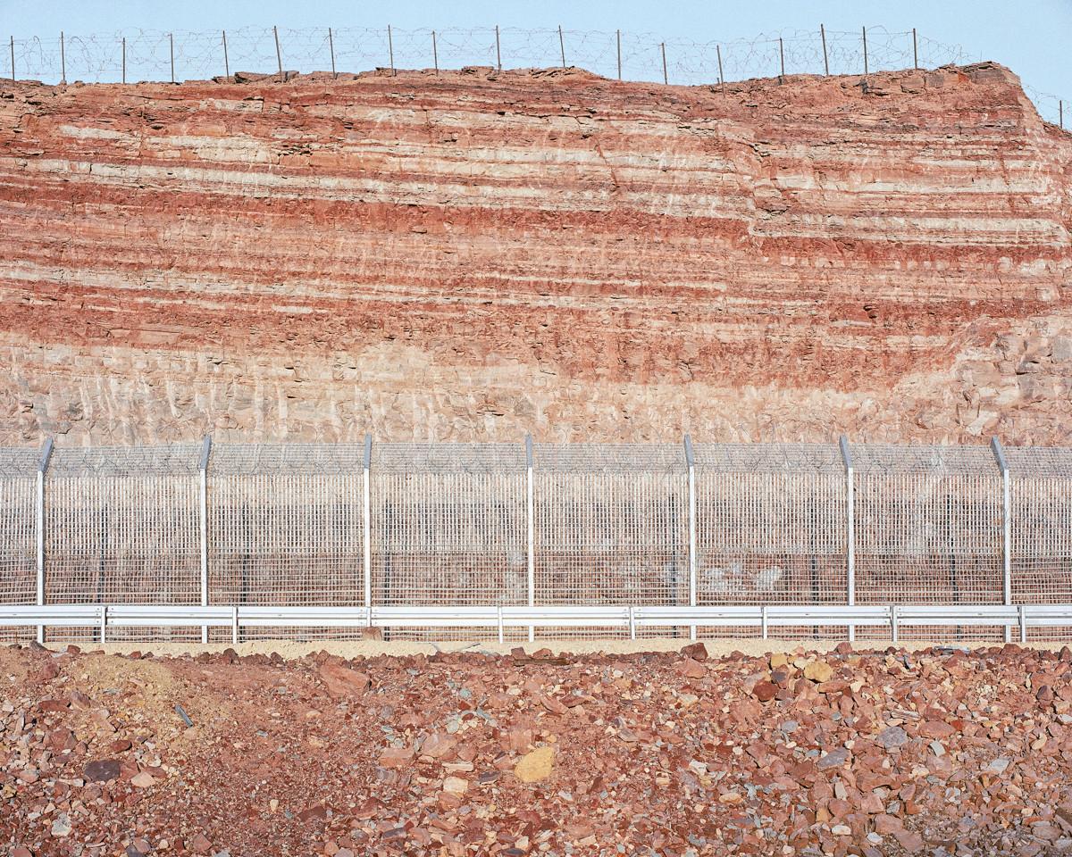 Roadcut, Red Mountains (Egypt Border), 2013