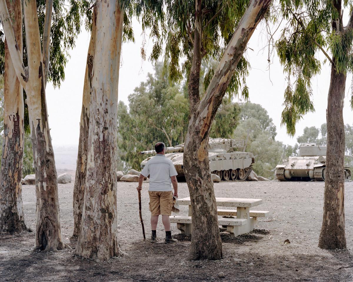 Tanks, Golan Height, 2015