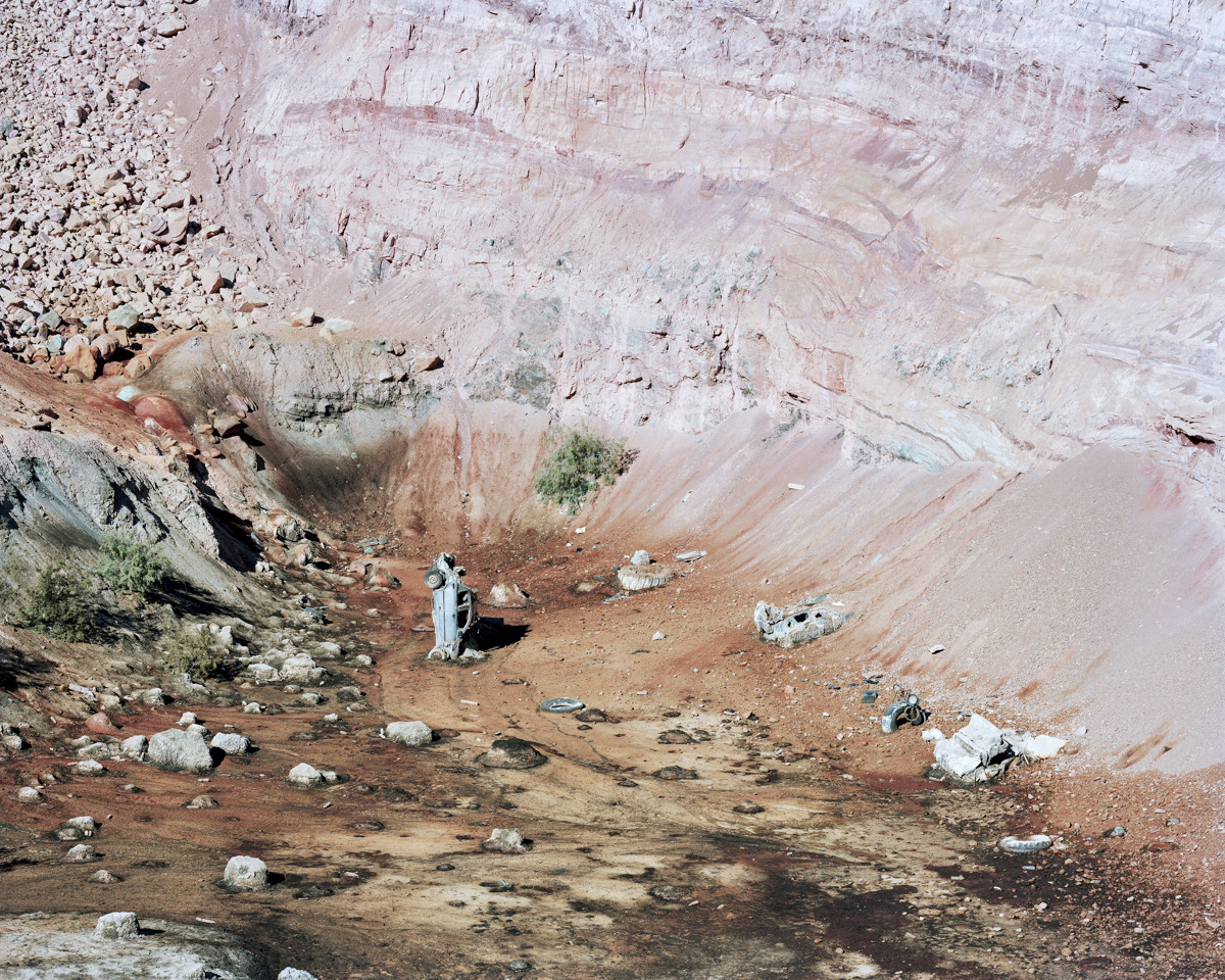 The End Of The Road, Timna Quarries, 2017
