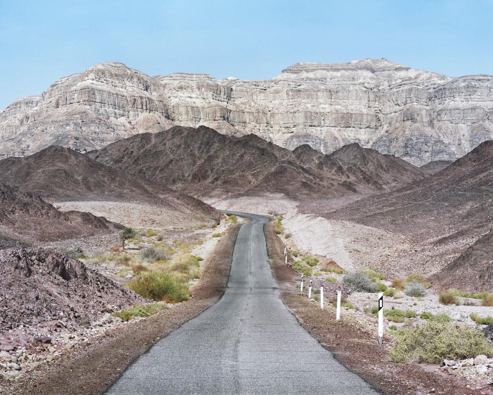 Scenic Route, Timna National Park, the Arava, 2016