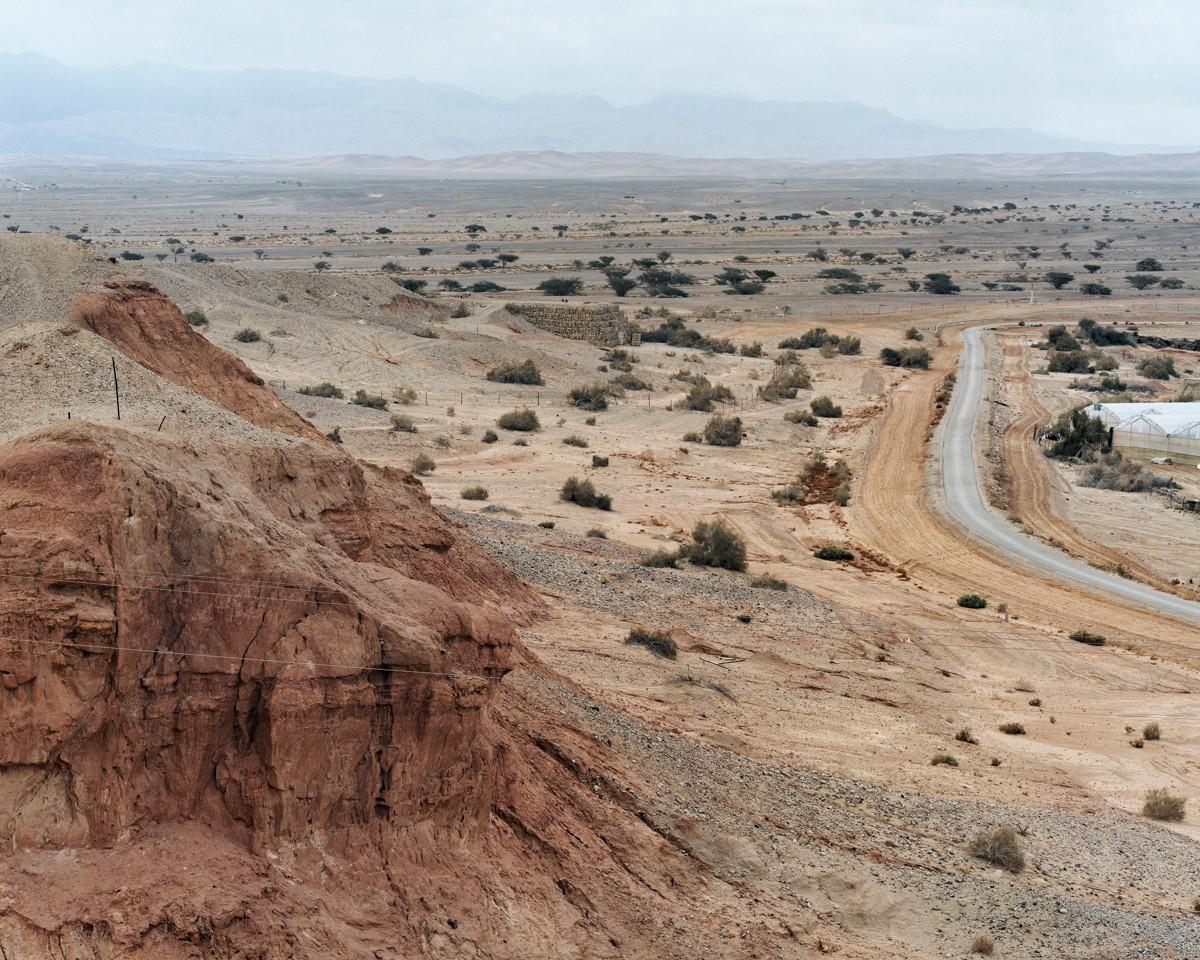 "Bunker, ""The Peace Road"" (Jordanian – Israeli Border), the Arava, 2016"