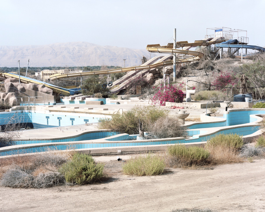 Dry Water Park, North of The Dead Sea, 2016