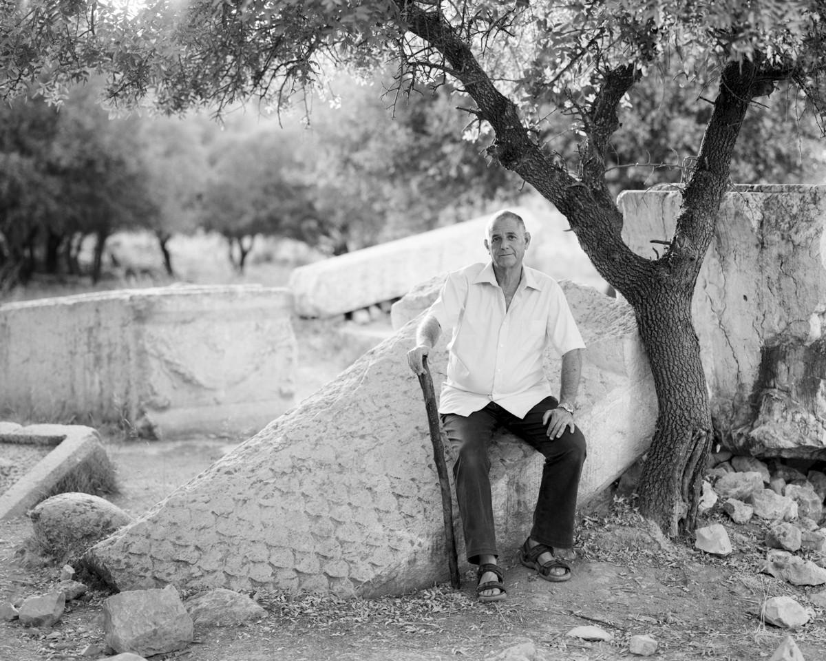 Sarcophagus, Tel Kedesh, 2015