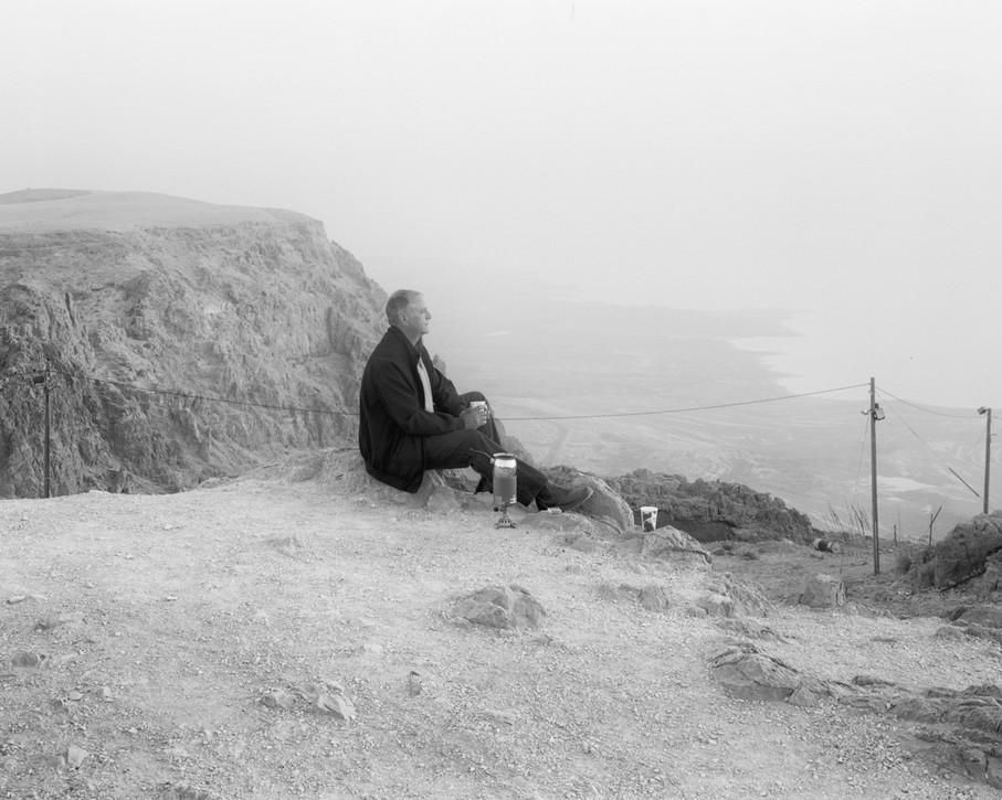 Coffee, Overlooking the Dead Sea, 2016