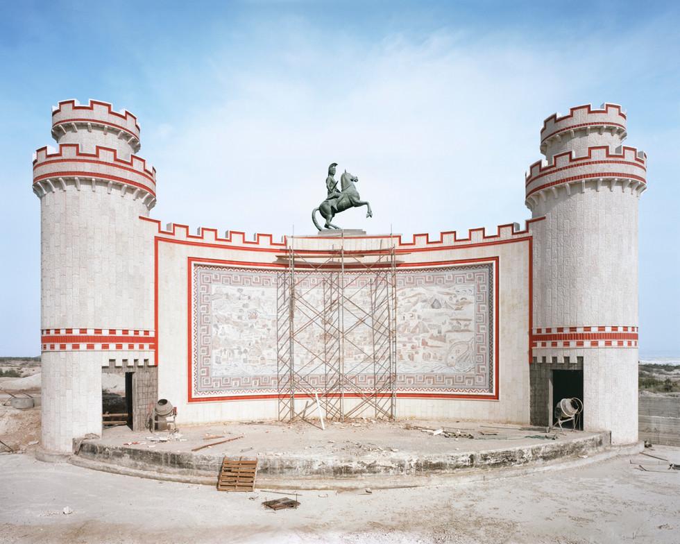Under Construction, Theatre at Deir Hijla Monastery (Jericho), 2016