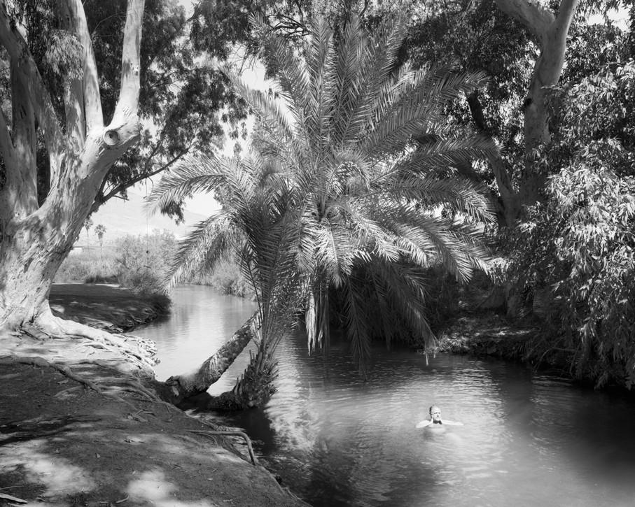 Swim, Kibbutzim River, 2015