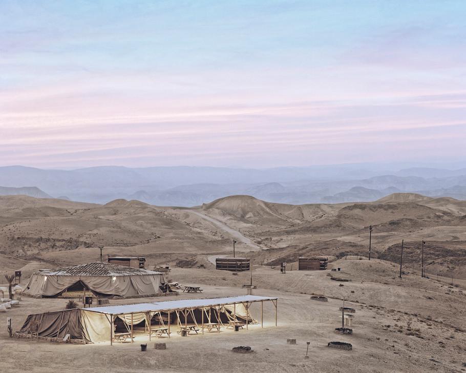 Tents (Sunset Over The Judaea Desert), 2016
