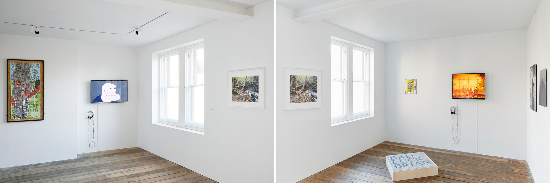 Installation view: Bloomberg New Contemporaries, South London Gallery. Photo: Andy Stagg. Image courtesy of New Contemporaries