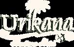 Logo da Urikana Boutique Hotel e Restaurante - branco