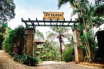 Entrada da Urikana Boutique Hotel e Restaurante