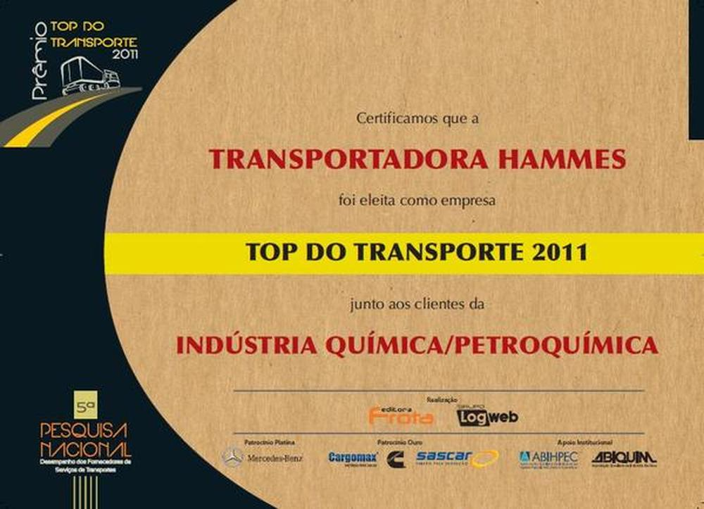 Top do Transporte 2011