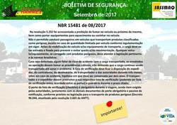 NBR 15481 de 08/2017