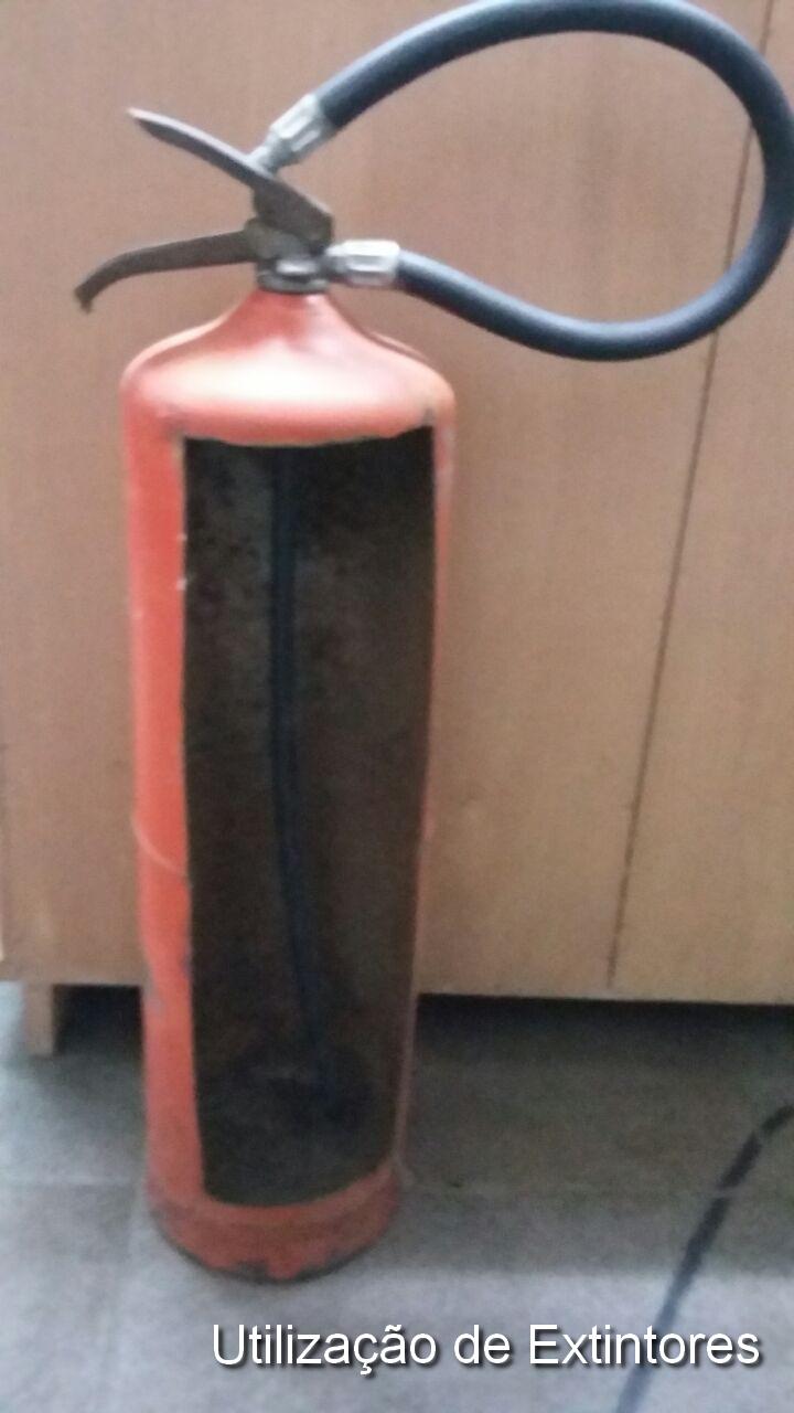 Utilização de Extintores