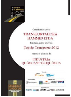 Top do Transporte 2012