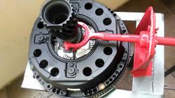 Sistema de disco e prensa Mercedes