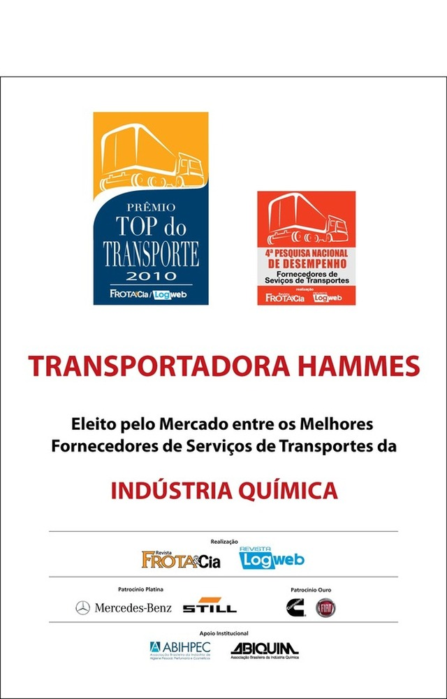 Top do Transporte 2010