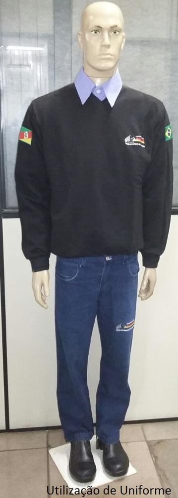 Utilização de uniforme