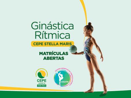Venha fazer ginástica rítmica no CEPE Stella Maris