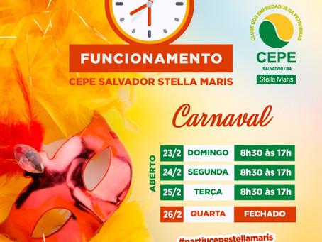 Vai ter folia todos os dias de Carnaval no CEPE Salvador Stella Maris