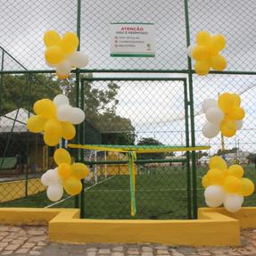 Inauguração do Campo | grama sintético