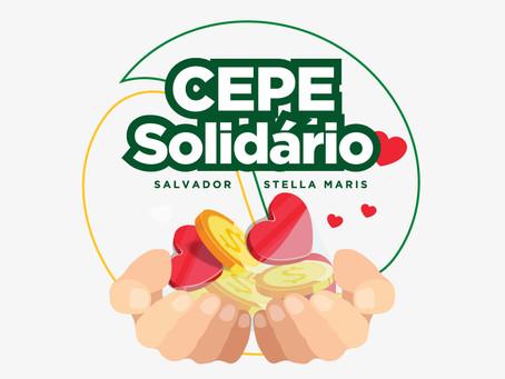 Projeto CEPE Solidário visa arrecadar doações para famílias carentes