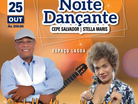 Paulo Humildes e Vera Morais comandam a Noite Dançante no dia 25/10
