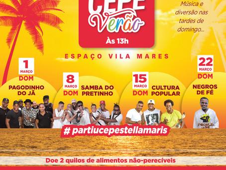 Em março, aos domingos, tem aquele sambinha no Restaurante Vila Mares