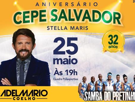 Adelmário Coelho e Samba do Pretinho comandam o aniversário do CEPE