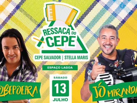 Sobepoeira e Jó Miranda comandam a Ressaca do CEPE Stella Maris no dia 13/7