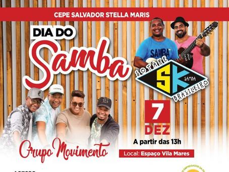 Grupo Movimento e Sotaque Brasileiro, sábado (7/12) no CEPE Salvador