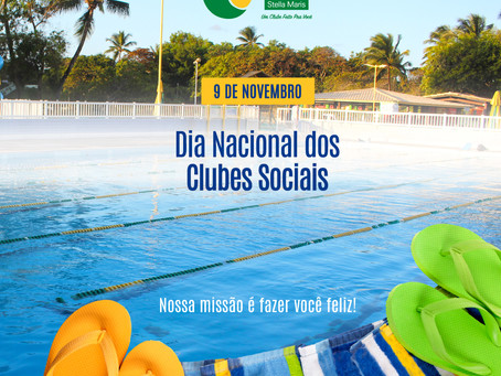 Homenagem especial no Dia Nacional dos Clubes Sociais e Esportivos