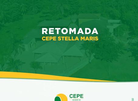 CEPE Stella Maris retoma as atividades aos poucos e com cautela nesta terça-feira (8/9)