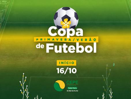 Copa Primavera/Verão de Futebol reúne oito equipes neste sábado (16/10)