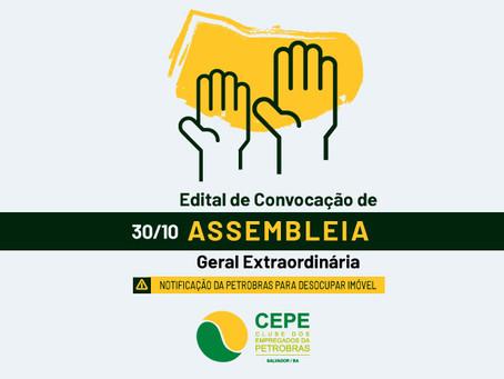 Dia 30/10: CEPE Stella Maris convoca Assembleia Geral Extraordinária