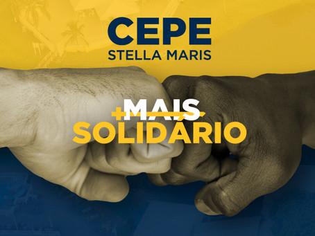 CEPE Stella Maris cada dia Mais Forte e Mais Solidário